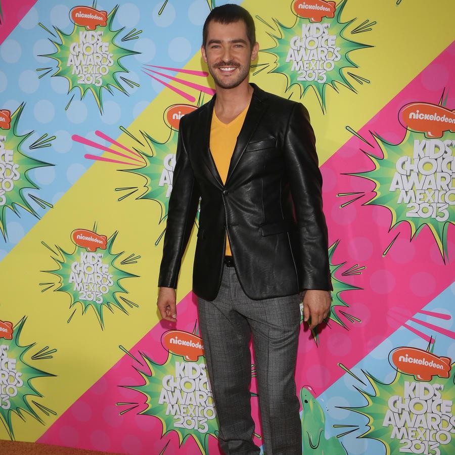 Manuel Balbi en los Kids Choice Awards Mexico 2013