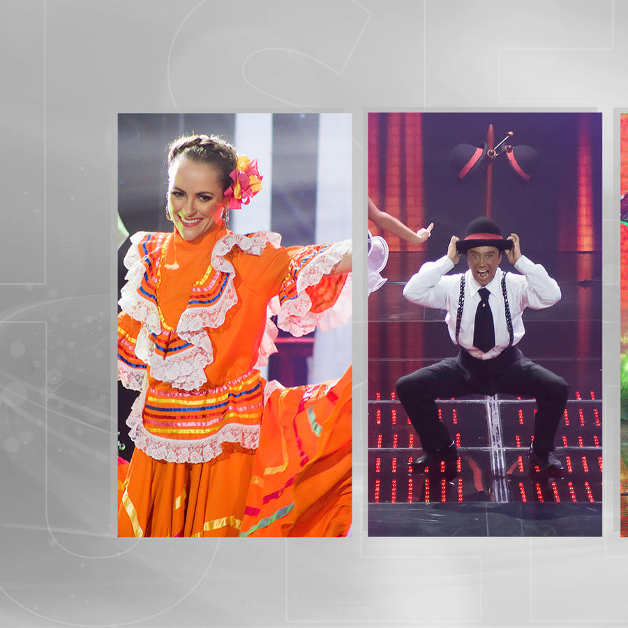 presentaciones de los concursantes en show 8 en Sí Se Puede