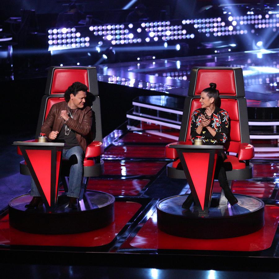 Natalia Jiménez Pedro Fernández Daddy Yankee Audiciones a Ciegas La Voz Kids 2016