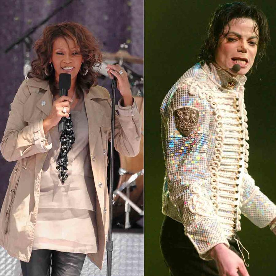 Prince, Michael Jackson, Whitney Houston