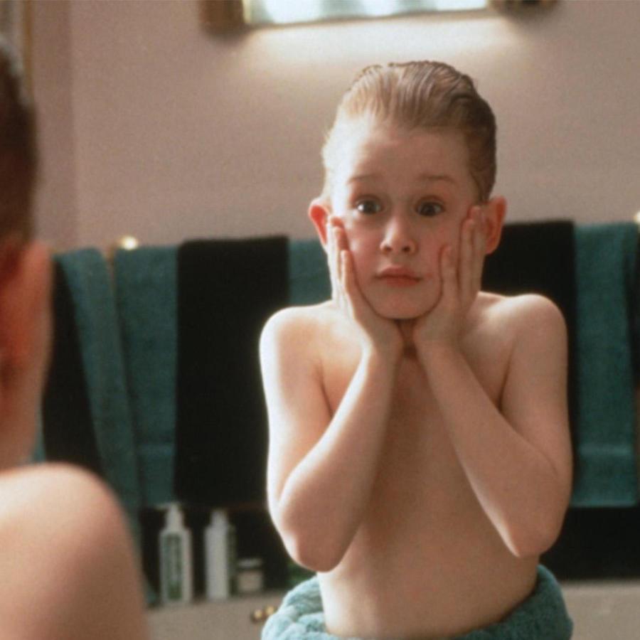 "Macaulay Culkin en ""Home Alone""."