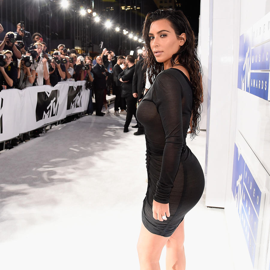 Kim Kardashian en MTV Video Music Awards, agosto 2016