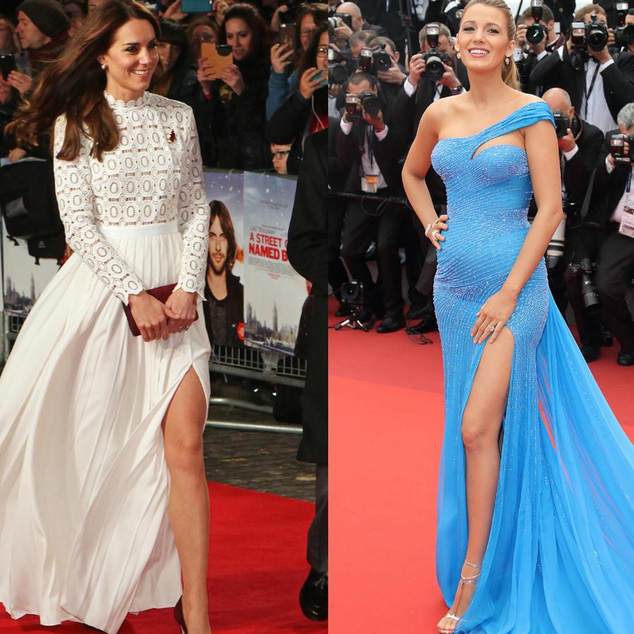 Kate Middleton, Blake Lively y Kim Kardasian, tres de las mejores vestidas en alfombras rojas