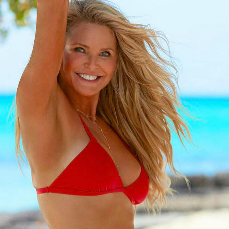Christie Brinkley en la portada de Sports Illustrated.