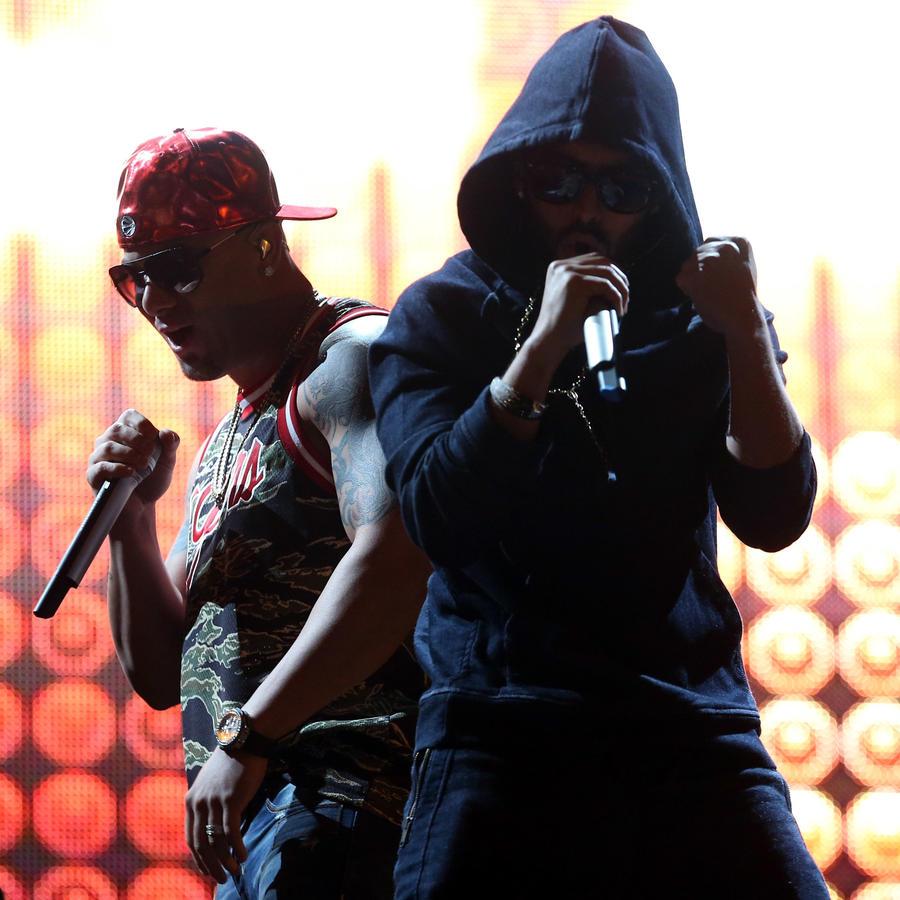 Wisin y Yandel Premios Billboard 2012