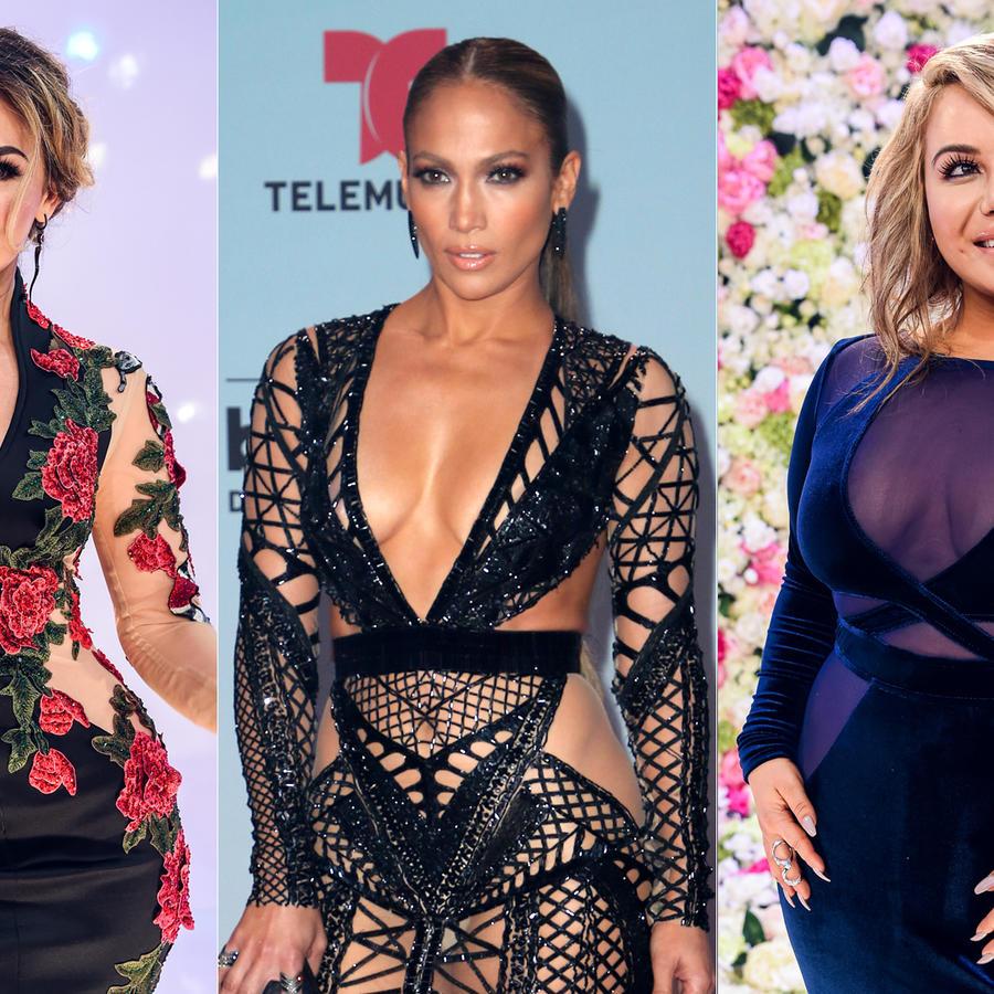 Los mejores escotes de Premios Billboard 2017