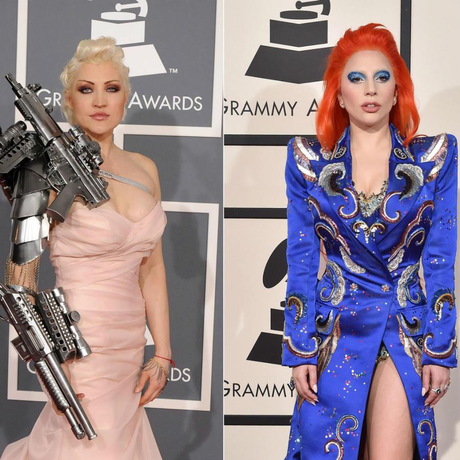 Sasha Gradiva, Lady Gaga, Nicki Minaj, Grammy Awards