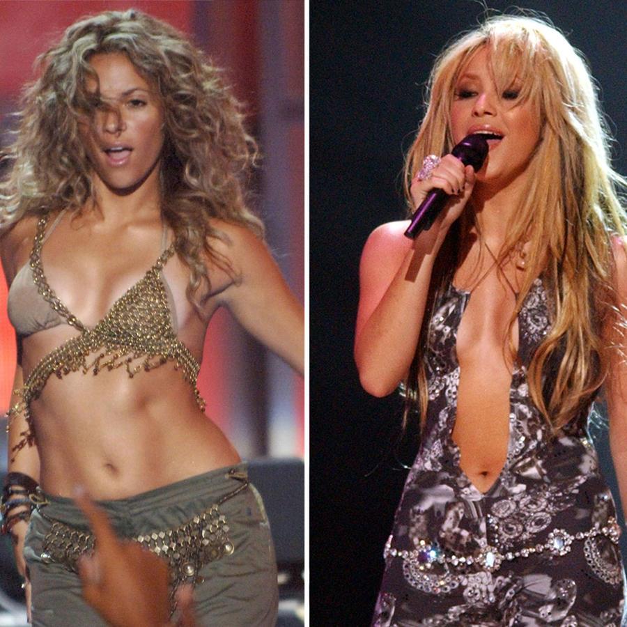 Collage Shakira sexy