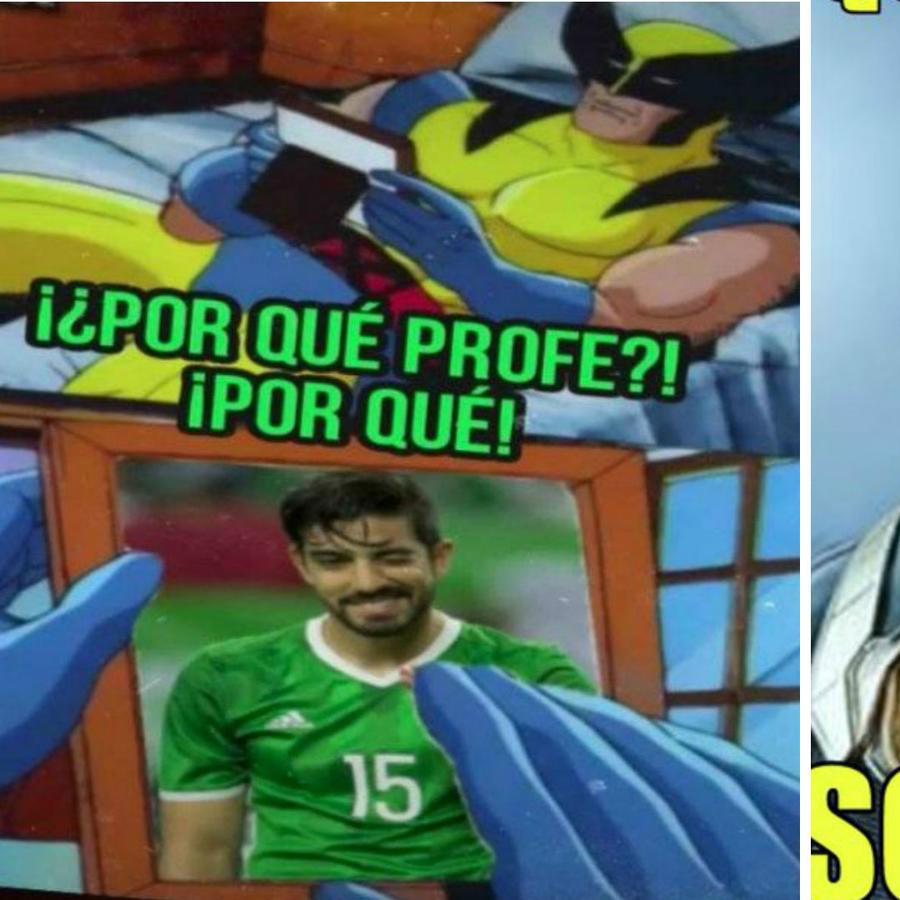 Collage memes de la Selección de México