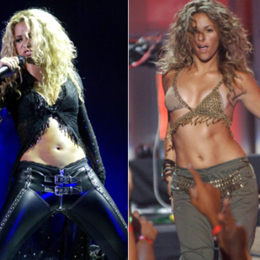 Shakira collage