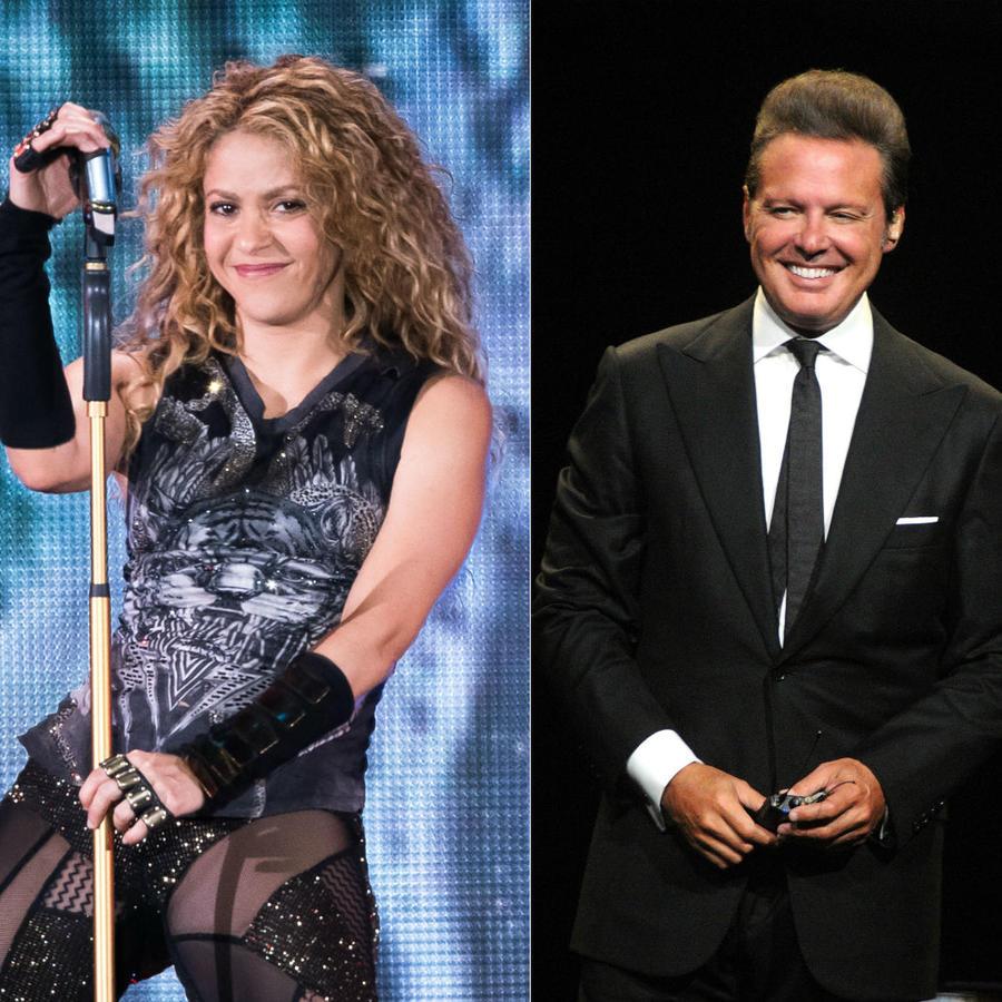 Shakira, Luis Miguel, Juan Luis Guerra