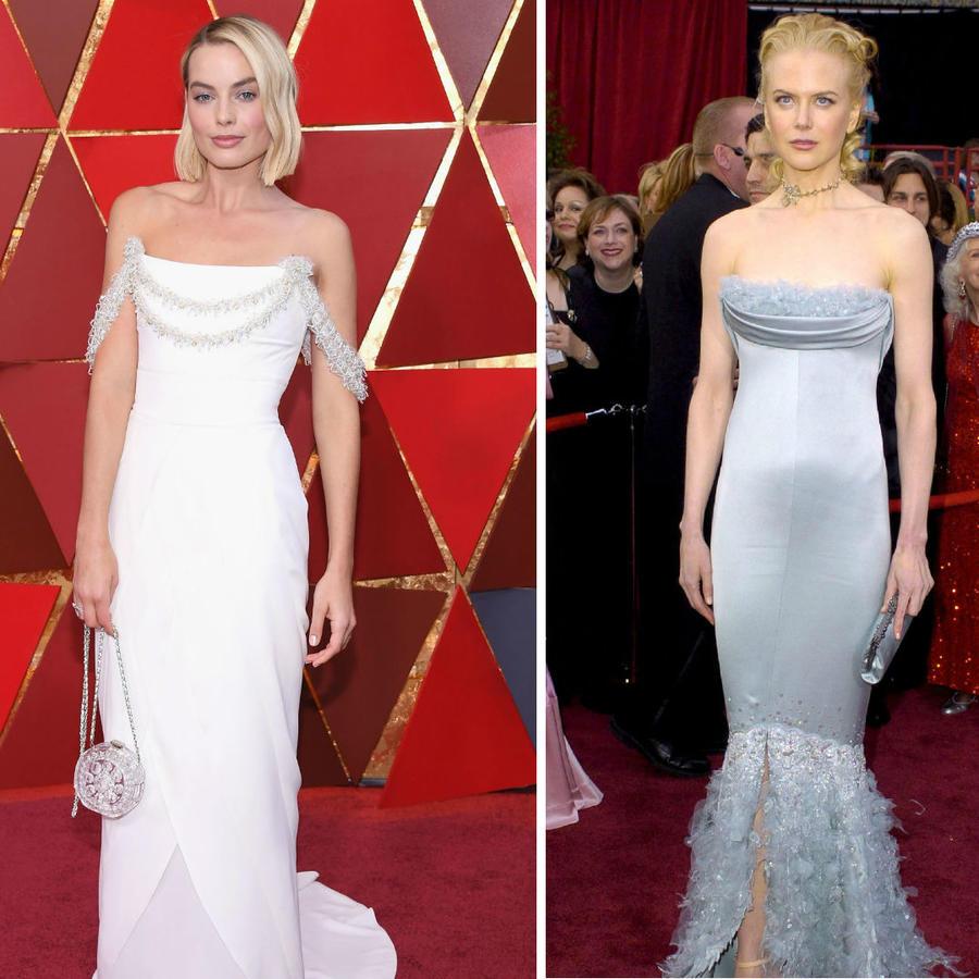 Penélope Cruz, Margot Robbie y Nicole Kidman en los Oscars
