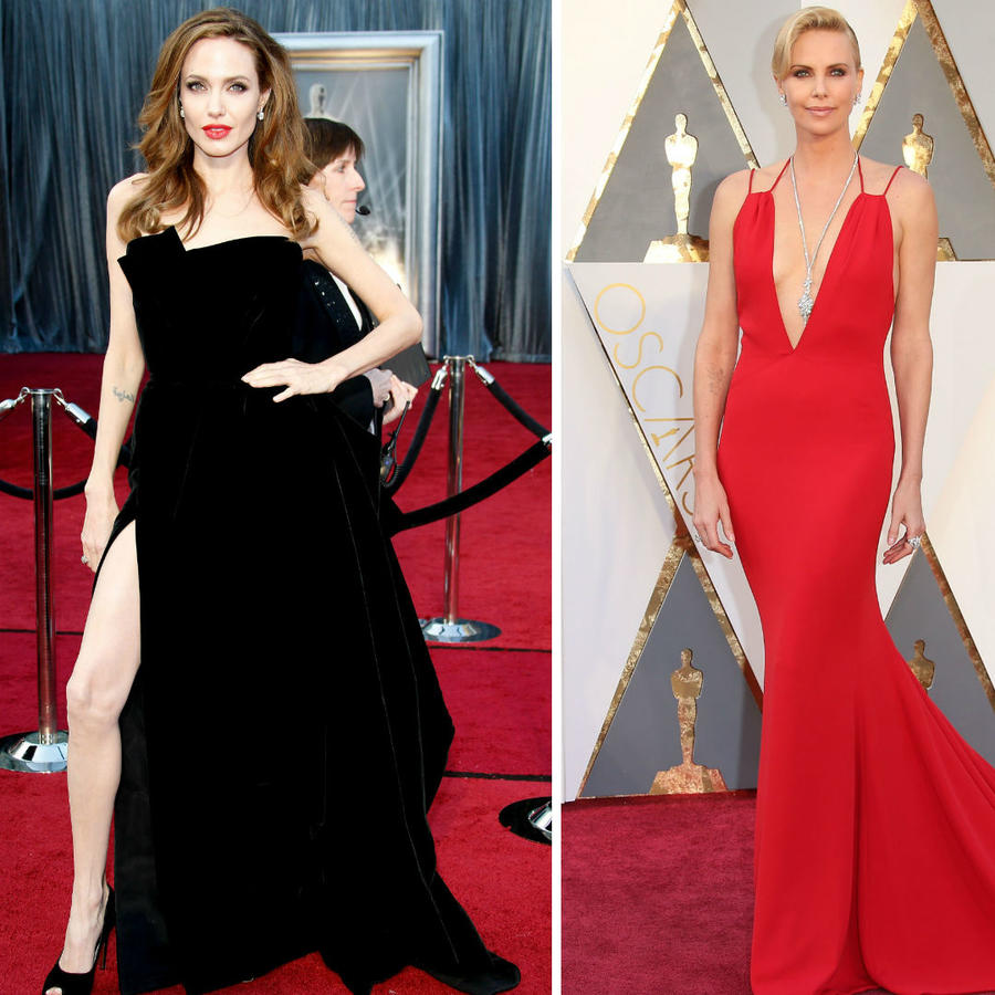 Gyneth Paltrow, Angelina Jolie y Charlize Theron