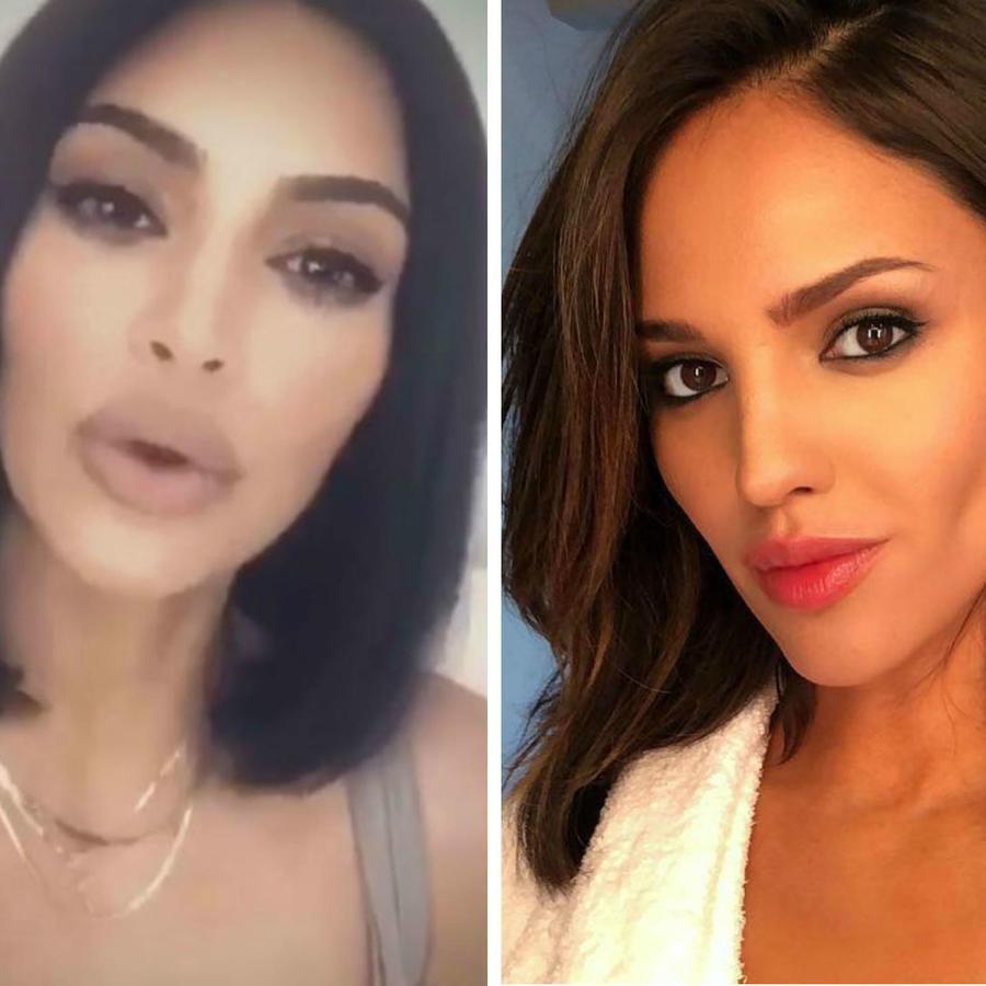 Demi lovato, Kim Kardashian y Eiza González