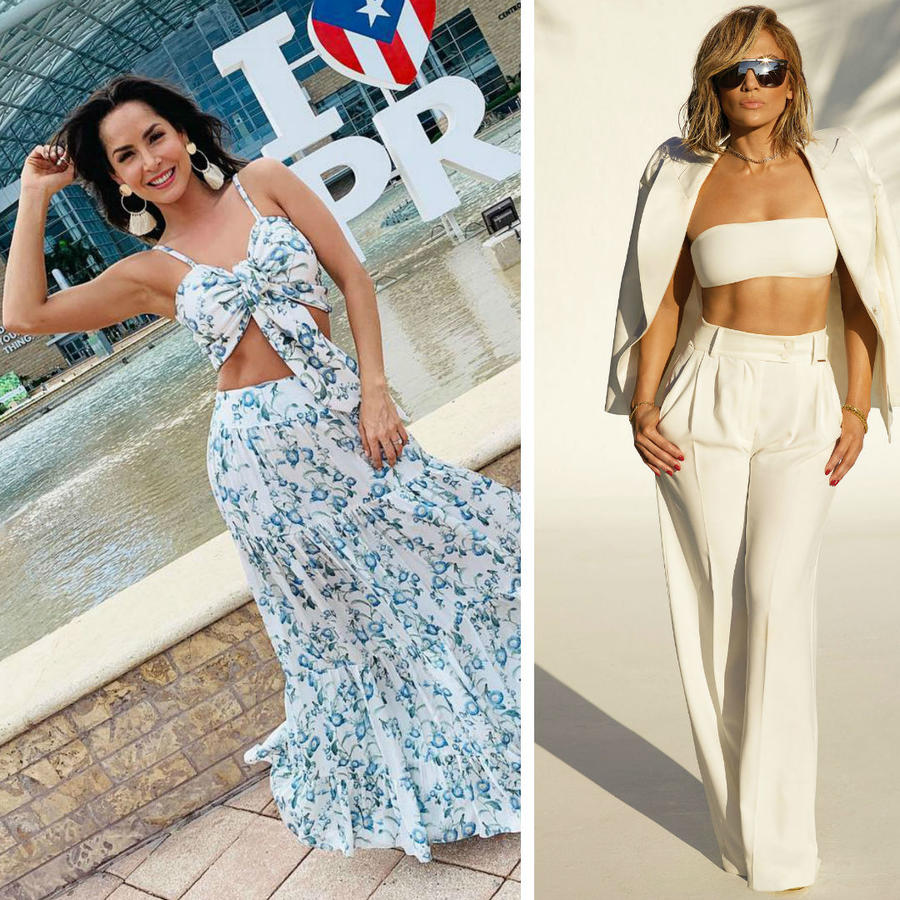 Carmen Villalobos, Jennifer Lopez y Priyanka Chopra