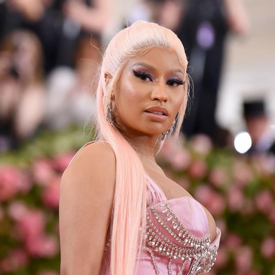 Nicki Minaj en el Met Gala 2019