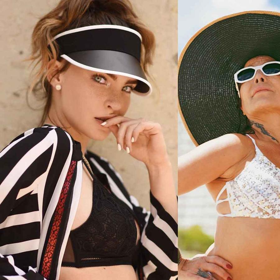 Belinda, Alejandra Guzmán y Chiquis Rivera luciendo sombreros espectaculares