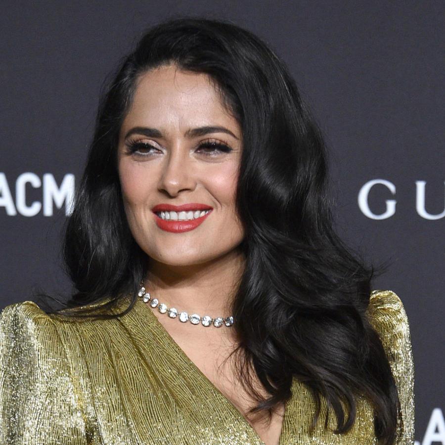 Salma Hayek en LACMA film 2018