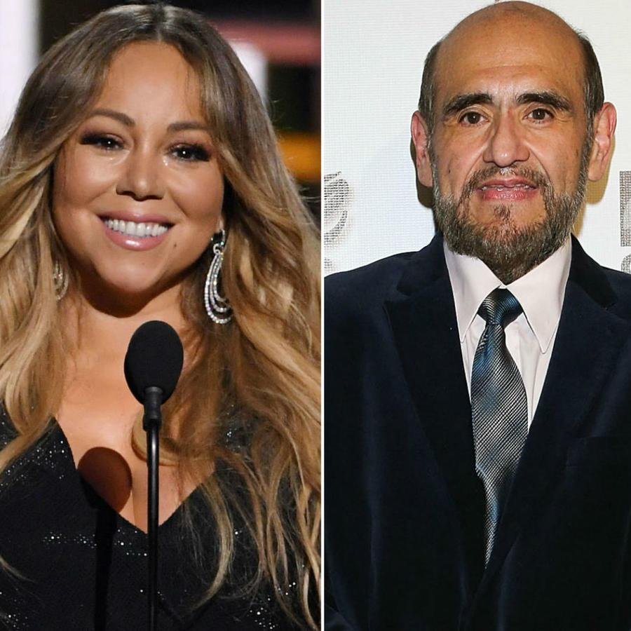 Mariah Carey, Edgar Vivar y Rubén Cerda