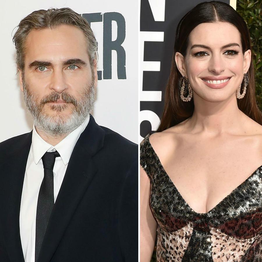 Joaquin Phoenix, Anne Hathaway y Jim Carrey