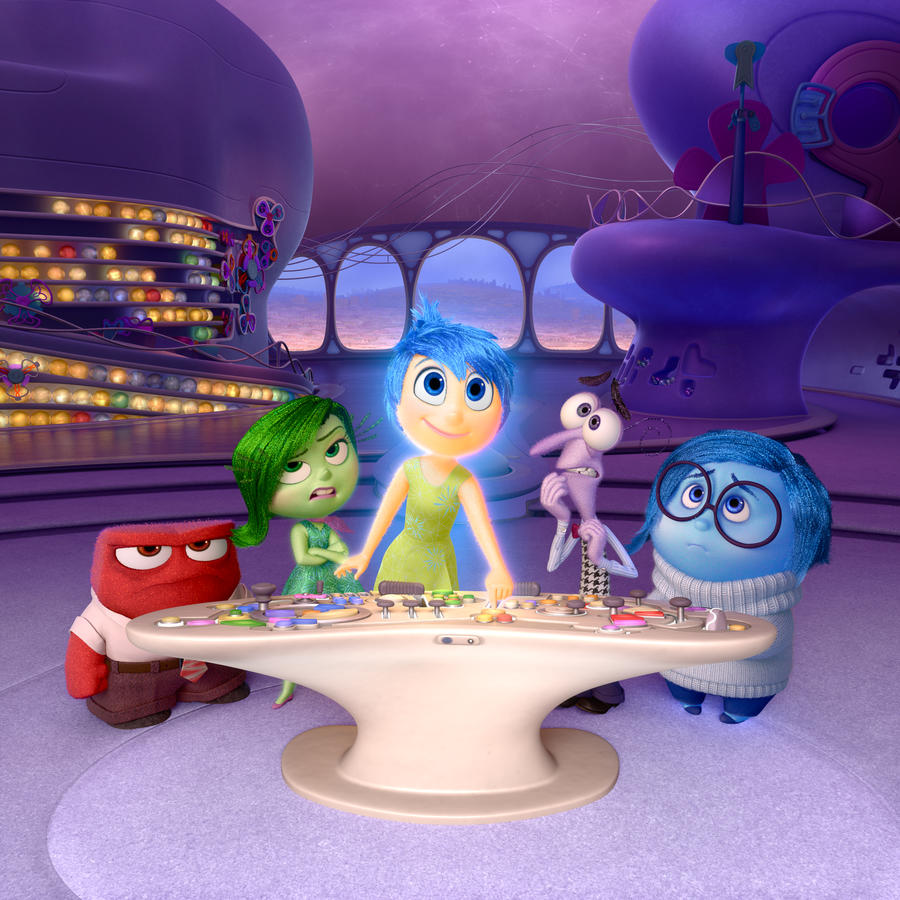 "Foto de la película ""Inside Out""."