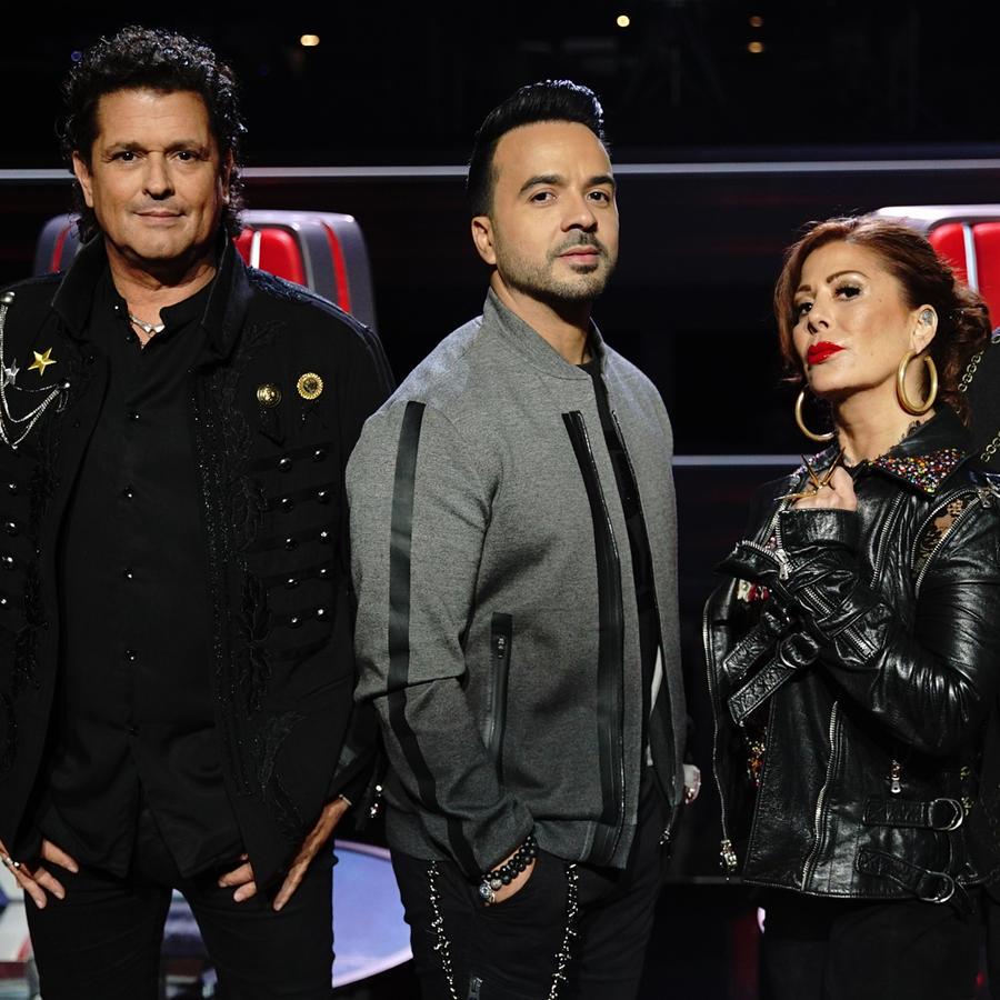 Carlos Vives, Luis Fonsi, Alejandra Guzmán y Wisin