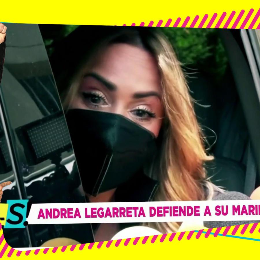 Andrea Legarreta episodio Erik Rubín