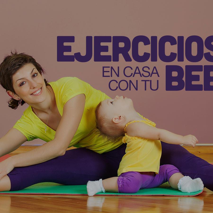 Ejercicios en casa con tu bebé