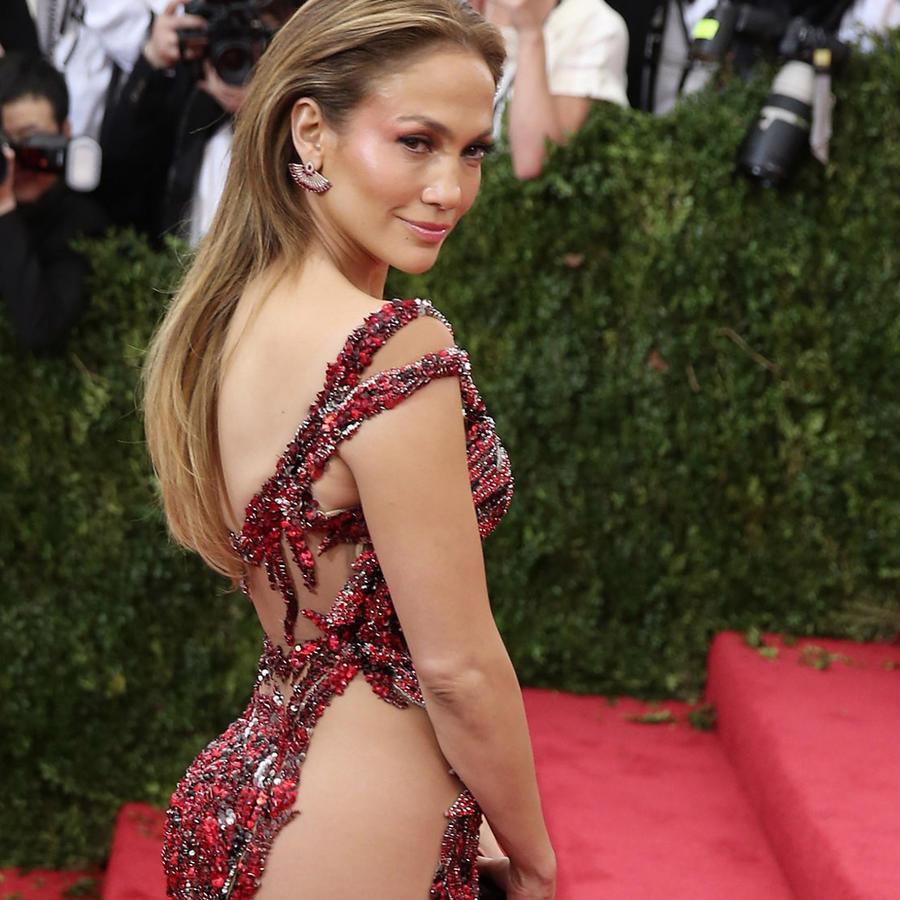 Jennifer Lopez en la Met Gala 2015