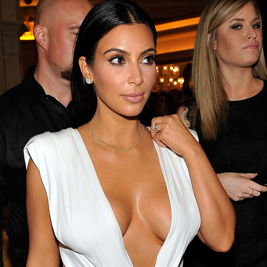 Kim Kardashian en Las Vegas