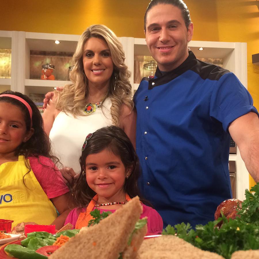Chef James junto a Chef Isa Souza