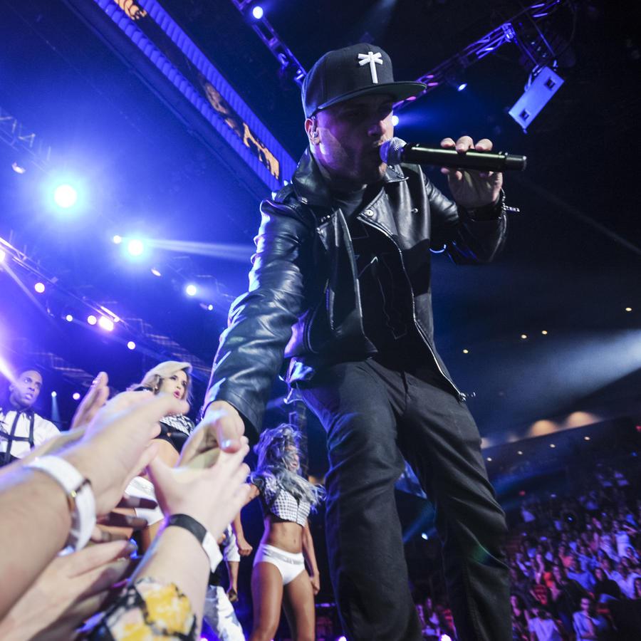 Nicky Jam en Premios Tu Mundo 2015