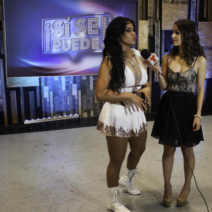 Maripily en entrevista con Caeli después del show 5 de Sí Se Puede