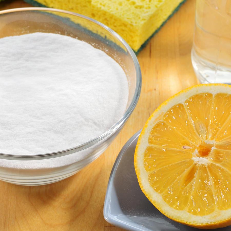 limon y bicarbonato