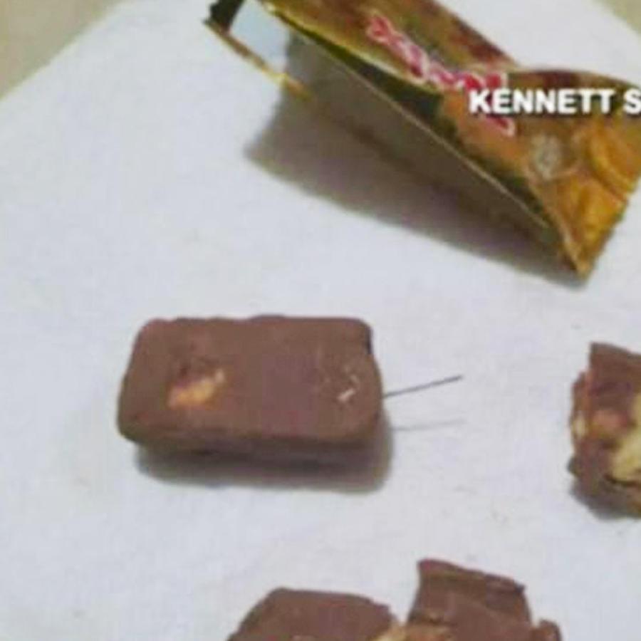 investigan agujas encontradas en dulces de halloween