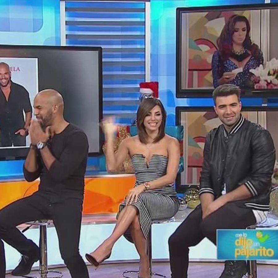 los protagonistas de telenovela respondieron preguntas del publico