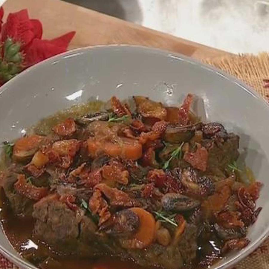 """Receta de cocina: aprende a cocinar un estofado de carne """"bourguignon"""""""
