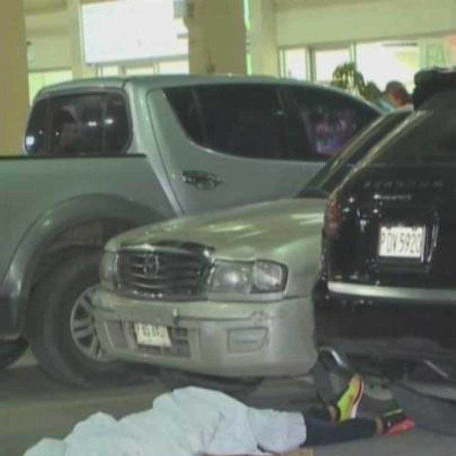 asesinan en un estacionamiento a un jugador de futbol de honduras