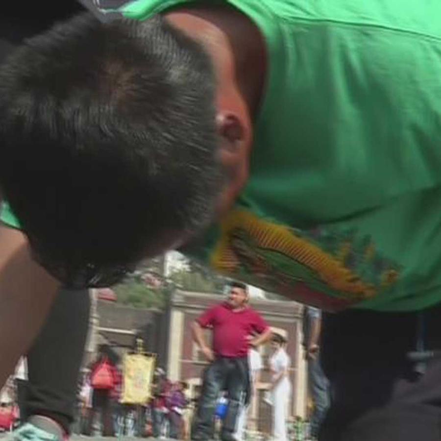 miles de fieles iniciaron su peregrinaje por la virgen de guadalupe