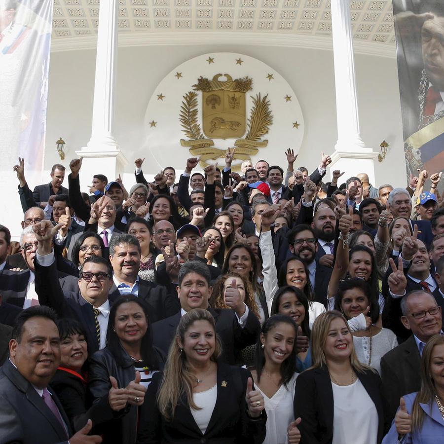 posesion de la oposicion en venezuela