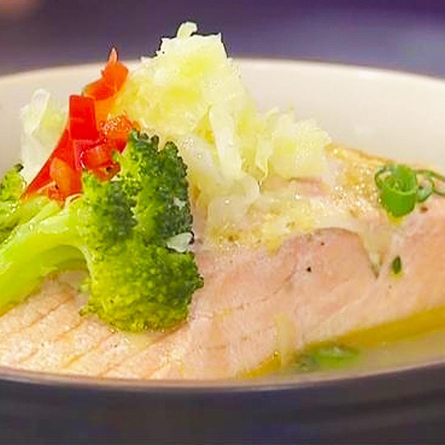 receta salmon miso