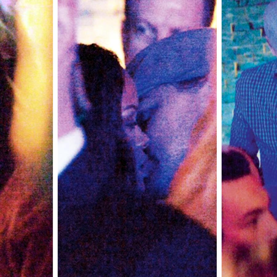 Leonardo DiCaprio y Rihanna se besan
