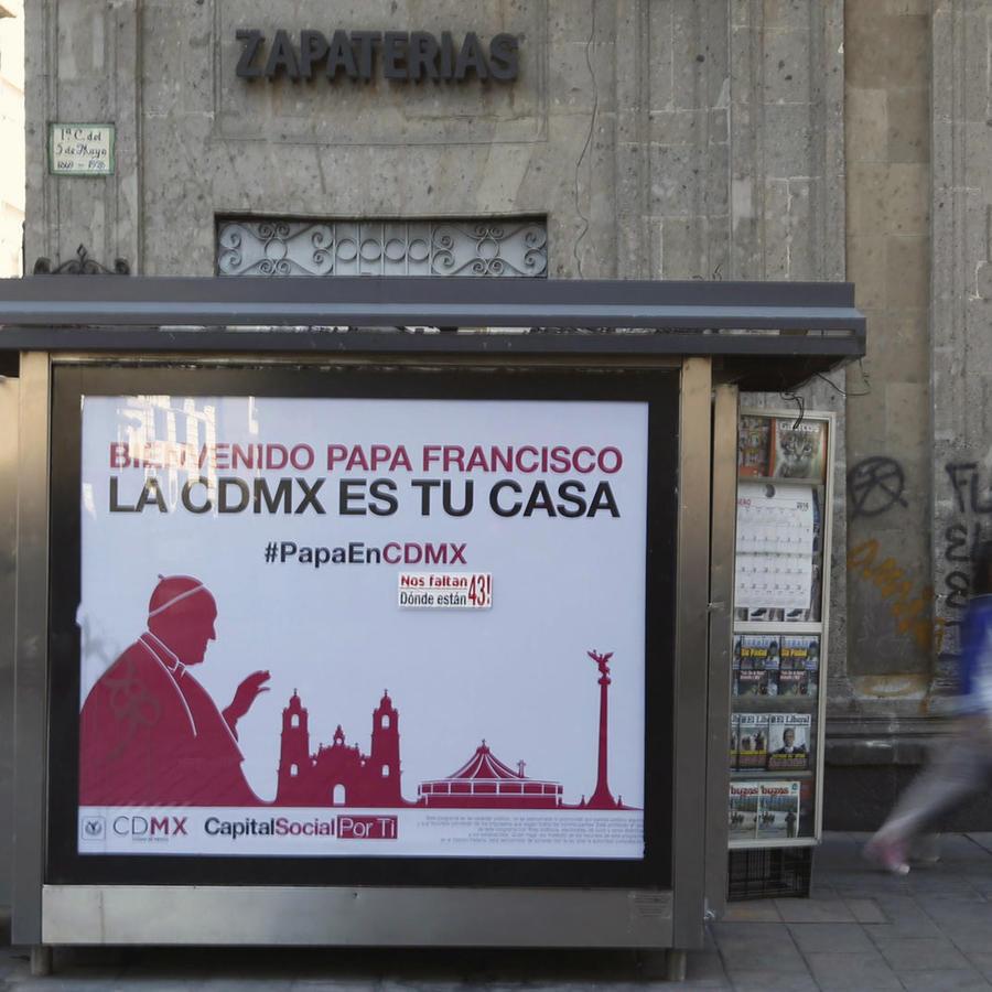 faltan voluntarios visita papa a México