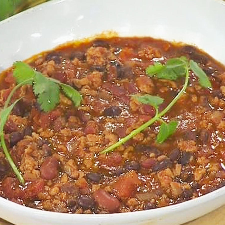 chili de pavo