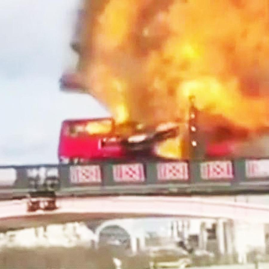 explosion bus londres