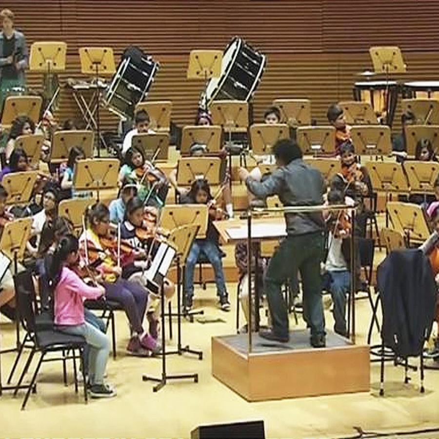 orquesta niños latinos