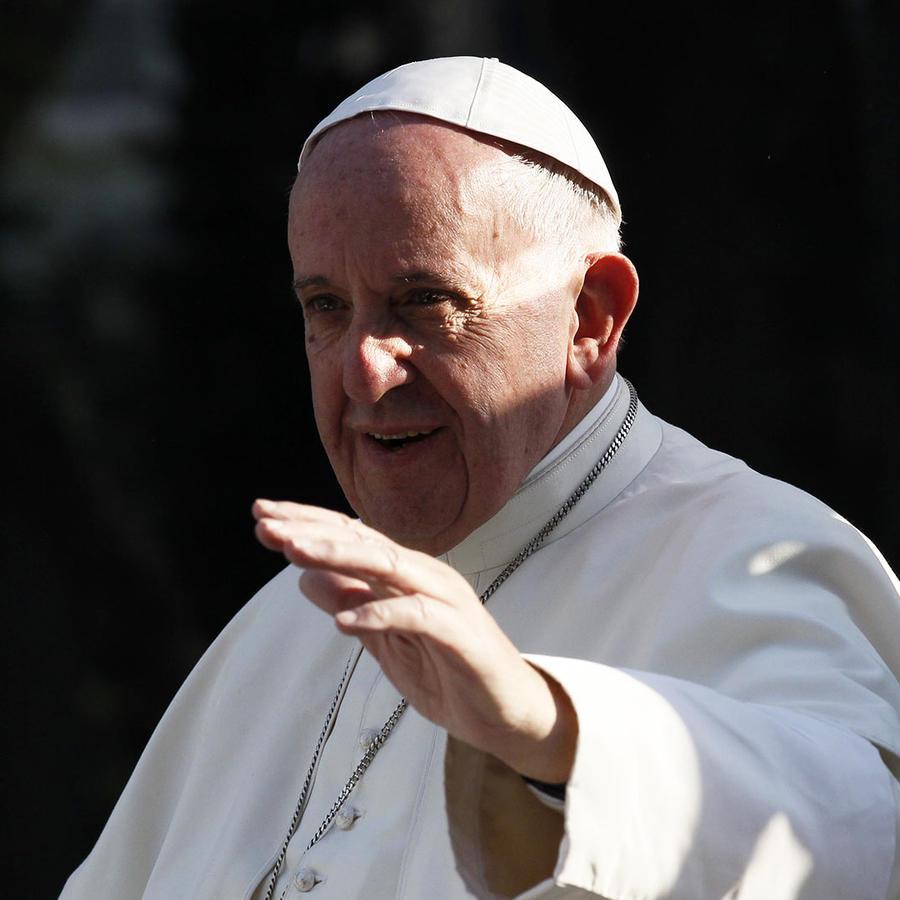 El papa Francisco visita hospital infantil en México