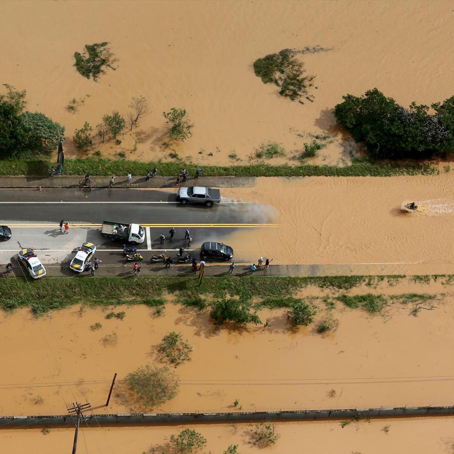 Brasil en crisis por las lluvia
