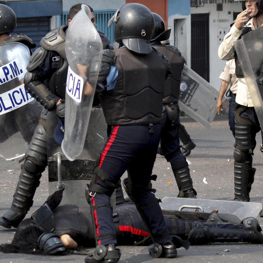 policias mueren venezuela
