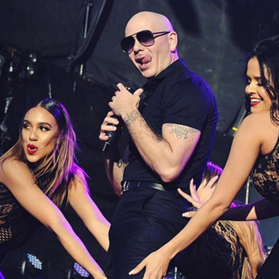 pitbull concierto iheartmedia